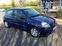 2005 Renault Clio 1.2cc 6 months MOT Low 54k mileage CD stereo nice cheap reliable car only 2 owners
