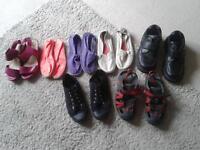 job lot shoes girls/boys/ladies