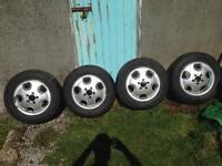 Mercedes Vito alloy wheels 5x112 vw t4 ect