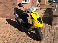 PIAGGIO NRG 50 PRIVATE PLATE GOOD CONDITION,PROJECT,SPARES OR REPAIR, RUNNER