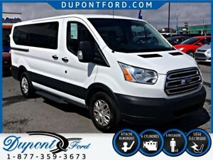 2015 FORD TRANSIT-150 Low Roof Wagon XLT - 8 PASSAGERS