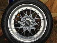 BBS Split rims 17 inch E36 5X120 fitment VW Corsa VXR