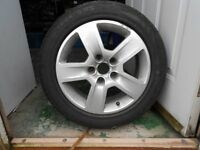 audi 16 inch alloy wheel