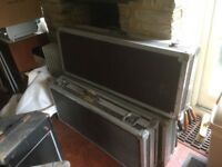 3 Guitar flight cases from the 70's