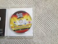 Guitar Hero World Tour Game and Les Paul Controller Guitar