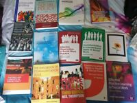 Health and social care, social policy community work all academic book like new