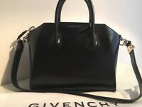 Brand new black Givenchy Antigona small calfskin leather. With tags and dustbag