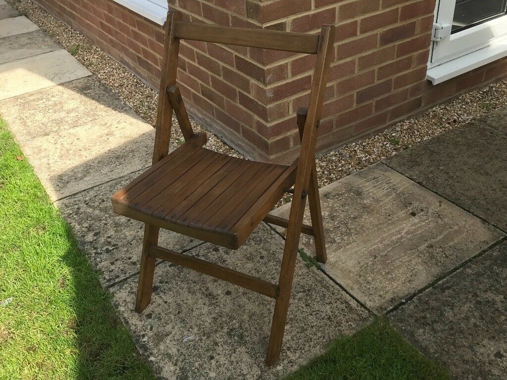 Marvelous Vintage Wooden Folding Chair War Department In Abingdon Oxfordshire Gumtree Alphanode Cool Chair Designs And Ideas Alphanodeonline