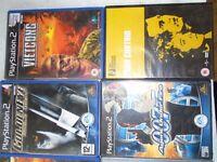 playstation games , 17no £10