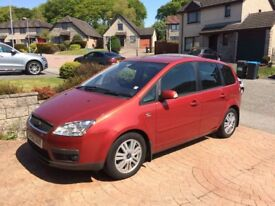FOCUS C-MAX for spares or repaire, MOT to september 2018, full service history