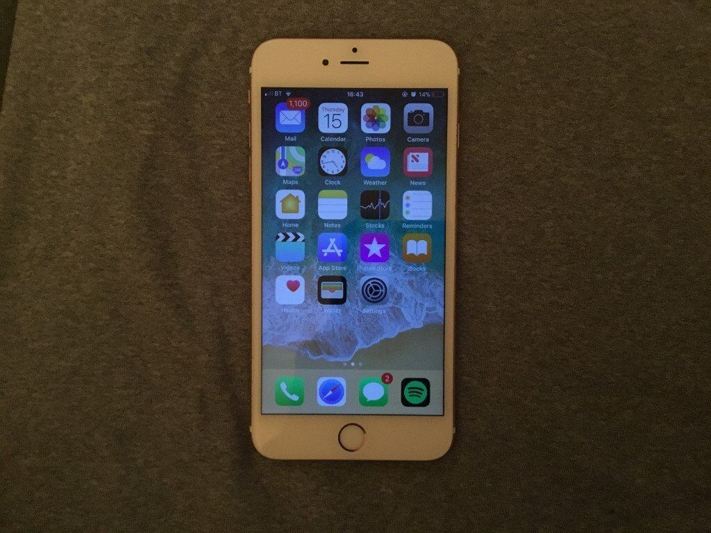 Iphone 6s Plus 16gb Any Network Deliver Post Rose Gold Apple In