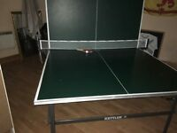 Full size table tennis table, good condition