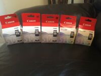 5 Canon 510 cartridges for sale