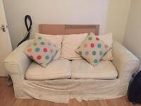 Comfortable 3 seater / double sofa Bed
