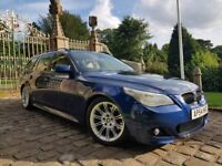 2004 54 BMW 5 SERIES 3.0 530D M SPORT TOURING AUTO 220PS, FSH, FULLY LOADED, STUNNING EXAMPLE