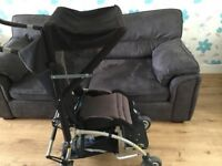 Rain cover and sun canopy for special needs buggy Alvema ITO 2