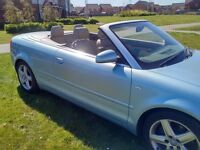 AUDI A4 1.8T SPORT CONVERTIBLE ELECTRIC ROOF LEATHER INTERIOR