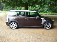 STUNNING MINI COOPER CLUBMAN DIESEL IN HOT CHOCOLATE WITH MANY EXTRAS