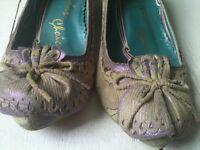 Irregular Choice Shoes - size 38 / 5