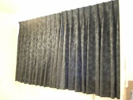 Curtains with Corded Rail