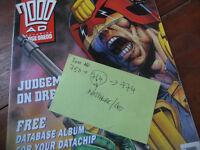 2000AD - Judge Dredd – 750-774 (Not complete) – Comics – Bundle