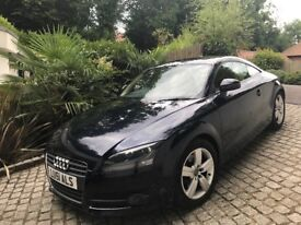 AUDI TT TFSI SAPPHIRE BLUE WITH CREAM LEATHER SEATS