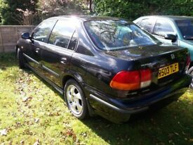 Honda Civic 1.6 Vti Black