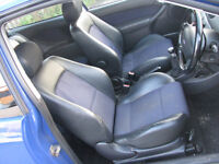 Ford Focus ST170 Front & Rear Hald Leather Seats 3dr