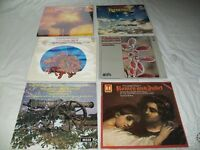 Tchaikovsky. Classical Music. 33 rpm vinyl records. Joblot of 6.