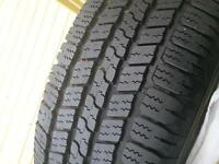 One Goodyear Wrangler Tire 265 65 17