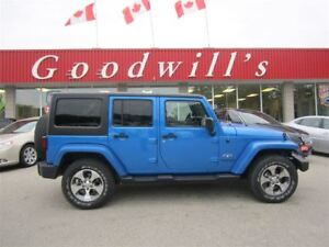 2016 Jeep Wrangler SAHARA! NAVIGATION! HEATED SEATS!