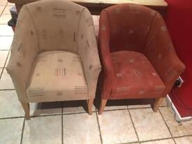 Four bucket type chairs - LISBURN