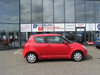 2007 07 SUZUKI SWIFT 1.3 GL 3d 91 BHP **** GUARANTEED FINANCE ****