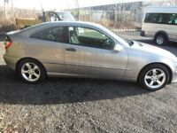MERCEDES C200 COUPE AUTO 2005/55 ONLY 81000 MILES FULL HISTORY