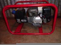 Stephill 2.7 kva 240 volt & 110 volt generator with a Honda engine