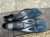 Childrens flippers - used fits size 2