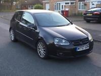 2008 VW GOLF GT SPORT TDI DRIVES WELL HPI CLEAR BODYWORK HAS MARKS A3 A4 ASTRA LEON FR S LINE