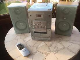 Stereo System CD, Tape, Radio