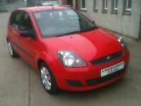 07 PLATE FORD FIESTA 1.2 STYLE 5DR 31000MILES £2995