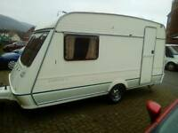 1994 two burt Fleetwood caravan