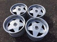 Borbet A deep dish alloy wheels, 17inch, 5x112, Mercedes Vw Audi T3 transporter