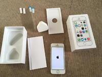 iPhone 5s 32gb unlocked spares or repairs still working