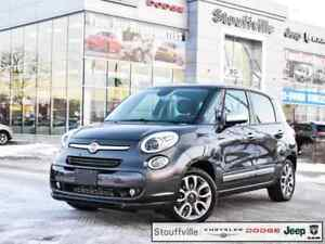 2015 FIAT 500L Lounge, Navi, Pano Roof, Only 37,600 KMS