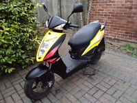 2013 Kymco Agility 50 RS automatic scooter, MOT, good condition, standard 50cc, not tuned, bargain,,