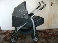 SILVER CROSS 3D PUSHCHAIR AND PRAM SYSTEM USED JUST A FEW MONTHS IMMACULATE CONDITION