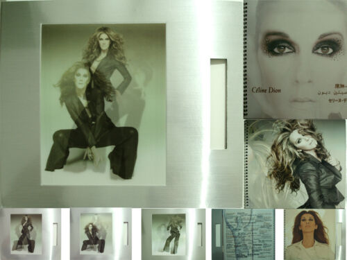CELINE DION World Tour Asia 2008 Program / Tour Book +3D LENTICULAR PICTURE RARE