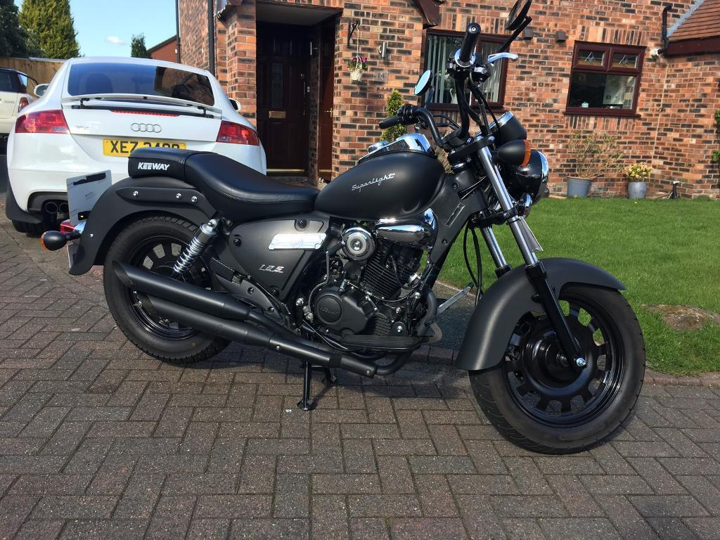 keeway superlight 125 2016 500miles in great sankey cheshire gumtree. Black Bedroom Furniture Sets. Home Design Ideas
