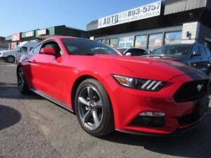 2015 Ford Mustang Roush Exhaust - Manual Red Leather - Back up C