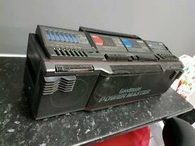 Goodmans boom box retro stereo