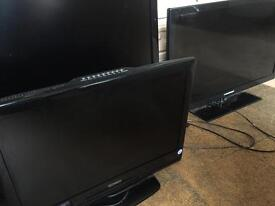 X4 NON WORKING LCD TVs 50/42/30/20 inch